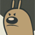 Geo the Hamster Unamused Emoticon