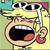 Leni Loud Crying Emoticon