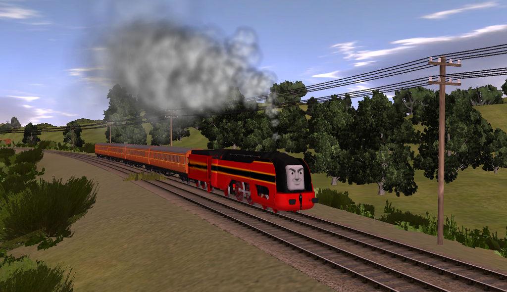 Trainz Axel on the mainline by Wildcat1999 on DeviantArt