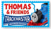 Trackmaster Thomas Fan Stamp by Wildcat1999