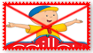Anti Caillou Stamp by Wildcat1999