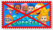 Anti Bubble Guppies Stamp by Wildcat1999