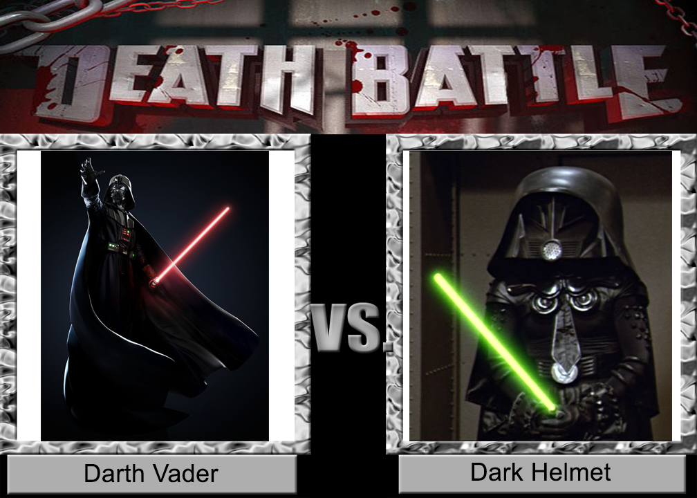 death battle darth vader vs dark helmet by wildcat1999 on deviantart