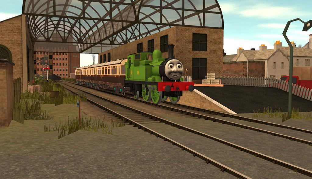 Trainz Oliver at Brendam Station by Wildcat1999 on DeviantArt