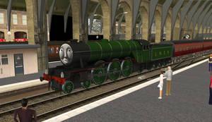 Trainz Gordon at King's Cross Station