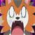 Dusk Form Lycanroc Shocked Emoticon