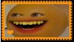 Annoying Orange Fan Stamp by Wildcat1999