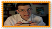 Angry Video Game Nerd Fan Stamp
