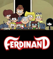 The Loud Kids ready to watch Ferdinand by Wildcat1999
