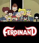 The Loud Kids ready to watch Ferdinand
