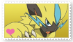 Zeraora Fan Stamp by Wildcat1999