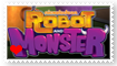 Robot and Monster Fan Stamp by Wildcat1999