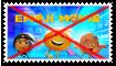 Anti Emoji Movie Stamp by Wildcat1999