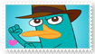 Perry the Platypus Fan Stamp by Wildcat1999
