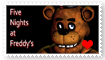 Five Nights At Freddy's Fan Stamp by Wildcat1999