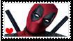 Deadpool Fan Stamp by Wildcat1999
