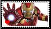 Iron Man Fan Stamp by Wildcat1999