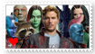 Guardians of the Galaxy Fan Stamp by Wildcat1999