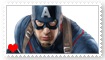 Captain America Fan Stamp by Wildcat1999