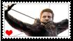 Hawkeye Fan Stamp by Wildcat1999