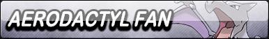 Aerodactyl Fan Button by Wildcat1999