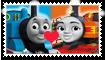 Thomas X Nia Fan Stamp by Wildcat1999