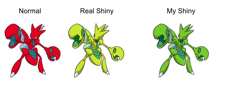 Shiny Scizor Fix by Wildcat1999
