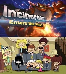The Loud Siblings reaction to Incineroar in Smash by Wildcat1999