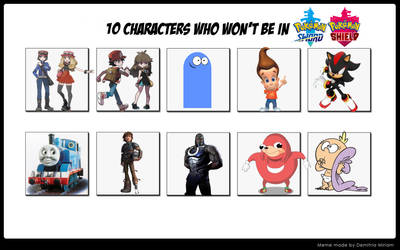 10 Characters who won't be in Sword and Shield by Wildcat1999