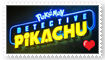 Detective Pikachu Movie Fan Stamp by Wildcat1999