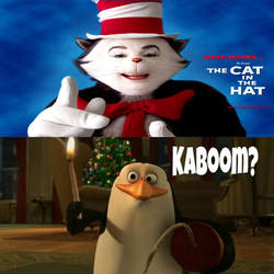 Rico wants to blow up Cat in the Hat Movie