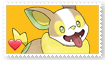 Yamper Fan Stamp