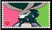 Calyrex Fan Stamp