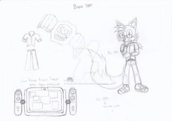 Baze the Fox (sketch ver.)