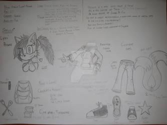 FC/OC.: Lyra the Fox (test ver.)