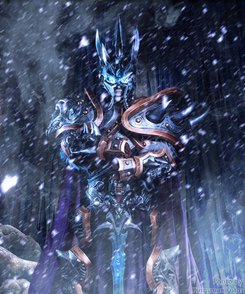 Arthas, the Lich King by Dezelith