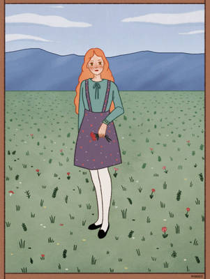 girl of the prairie by norree