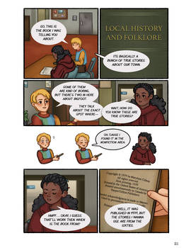 Ghosts in the Backyard: Page 21