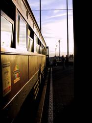Tram by gutter-glitter