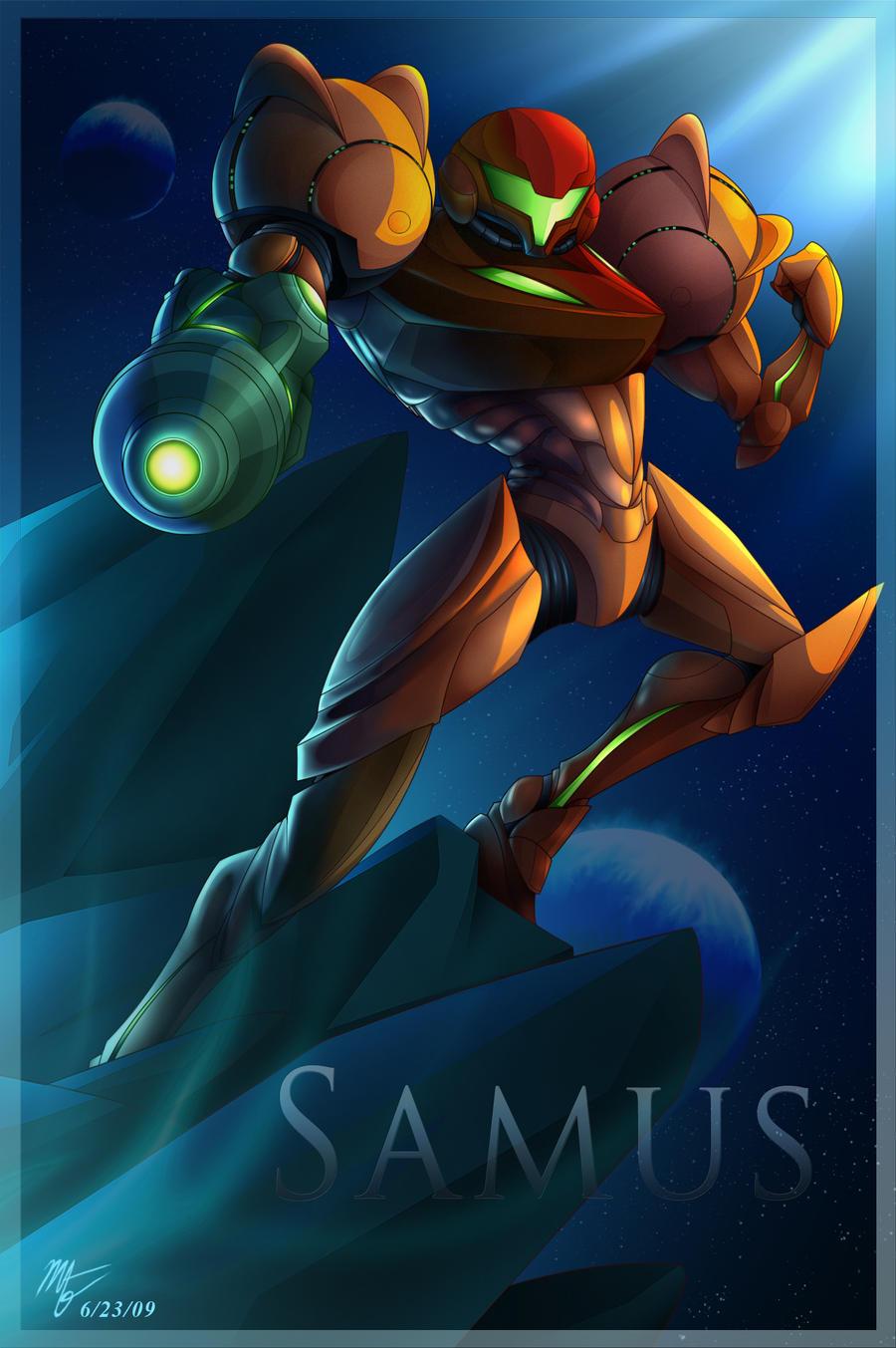 Samus by VegaColors