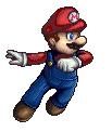 SSBB Mario Sprite by VegaColors