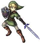 SSBB Link Sprite by VegaColors