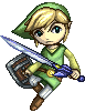 SSBB Toon Link Sprite by VegaColors
