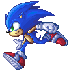 SSBB Sonic Sprite by VegaColors