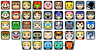 Pixel Brawl Roster by VegaColors
