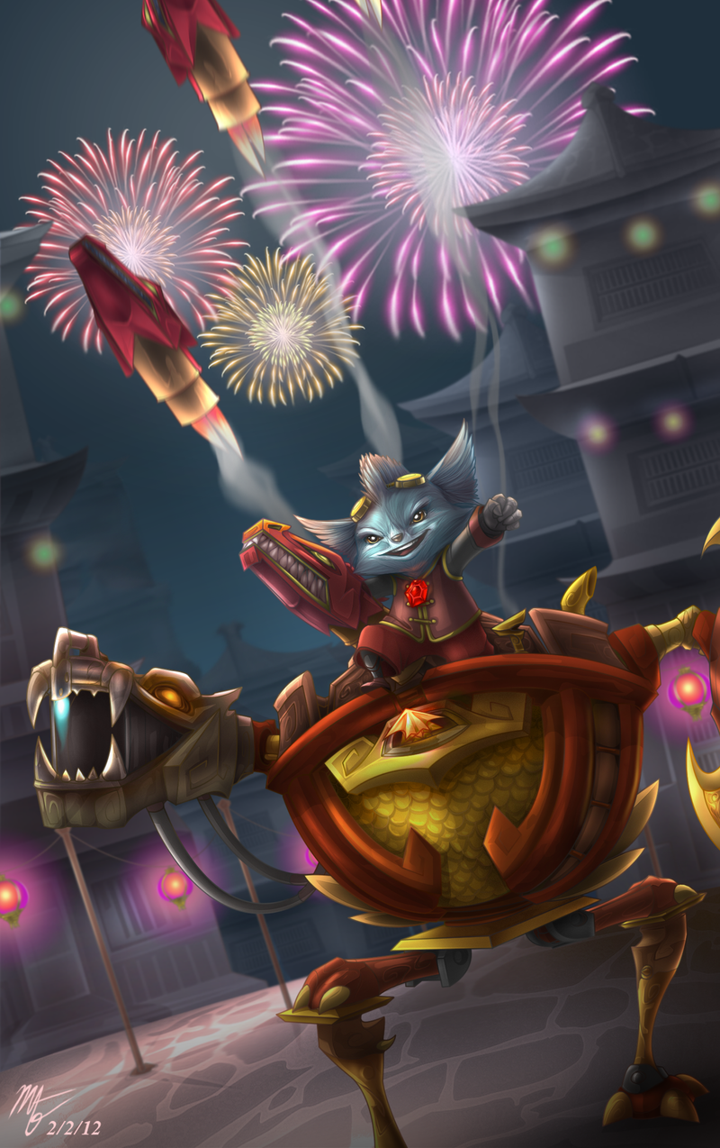 Art of Revelry Rumble by VegaColors