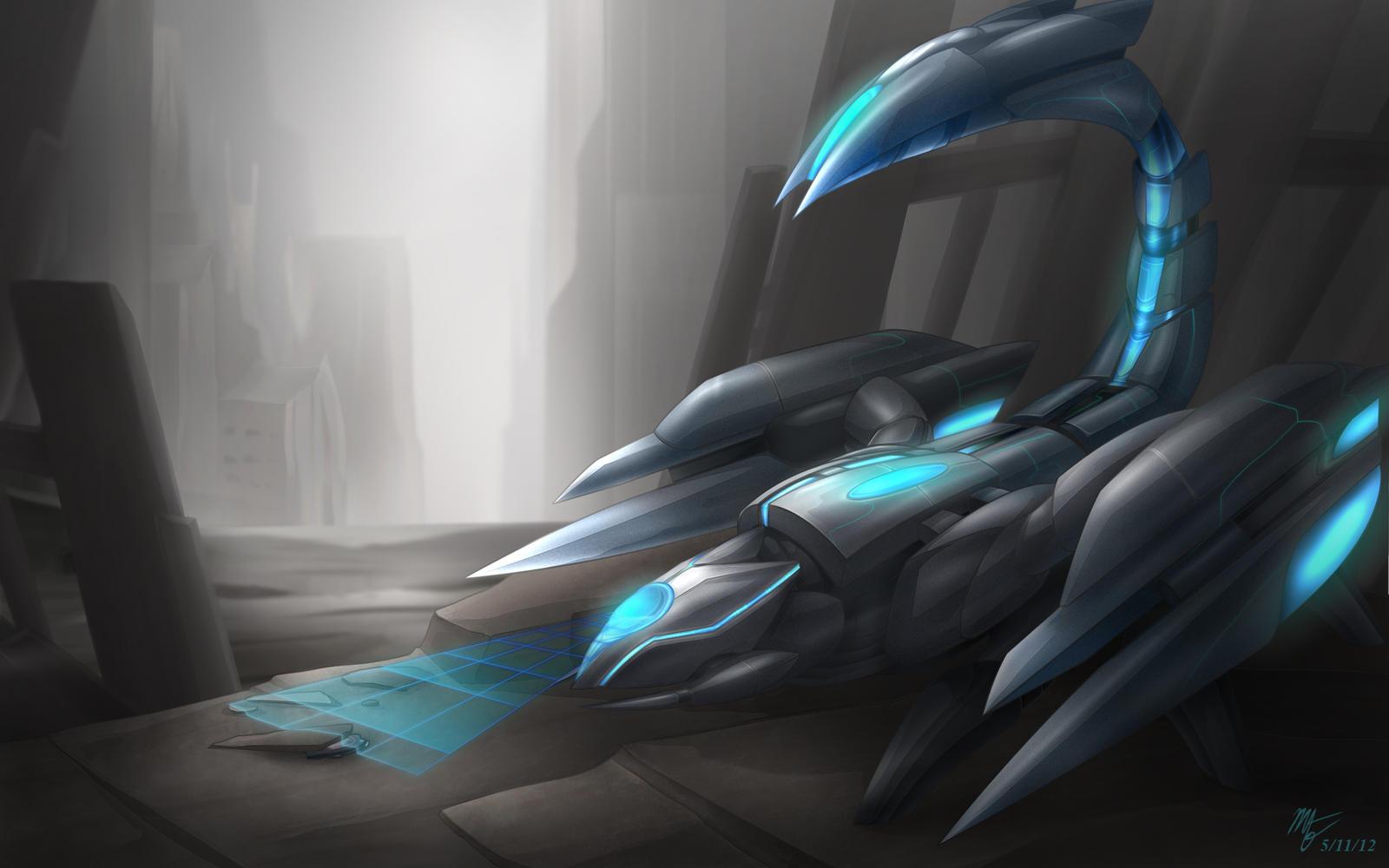 Droid Skarner by VegaColors