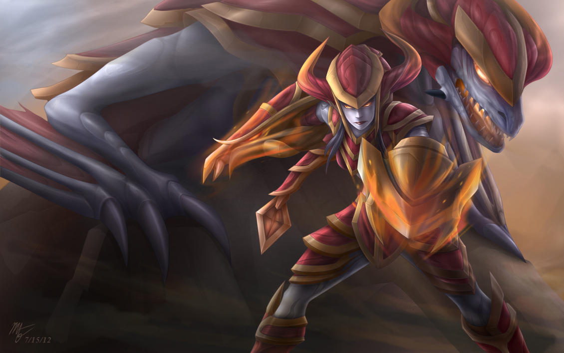 Shyvana by VegaColors