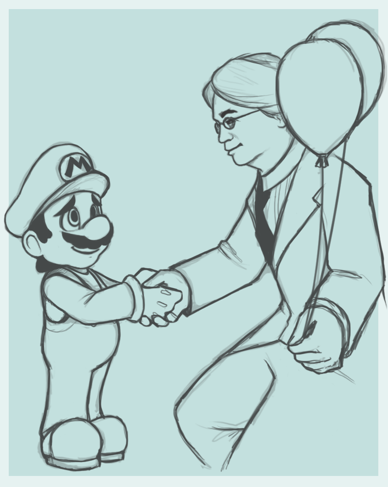Farewell Iwata by VegaColors