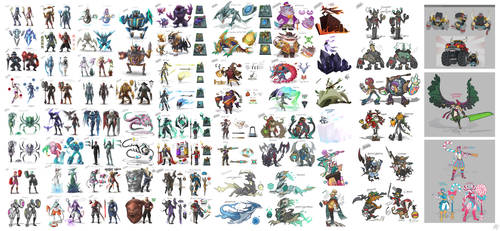 Skin Sketches Collection